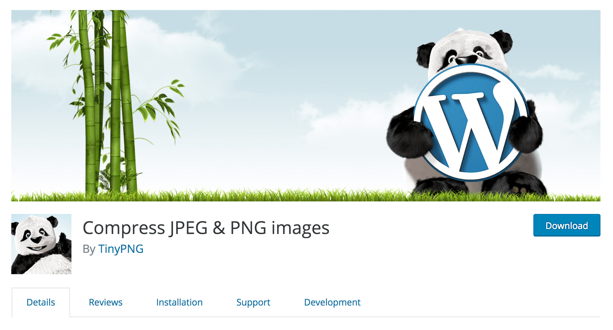 The Compress JPEG & PNG Images Plugin.