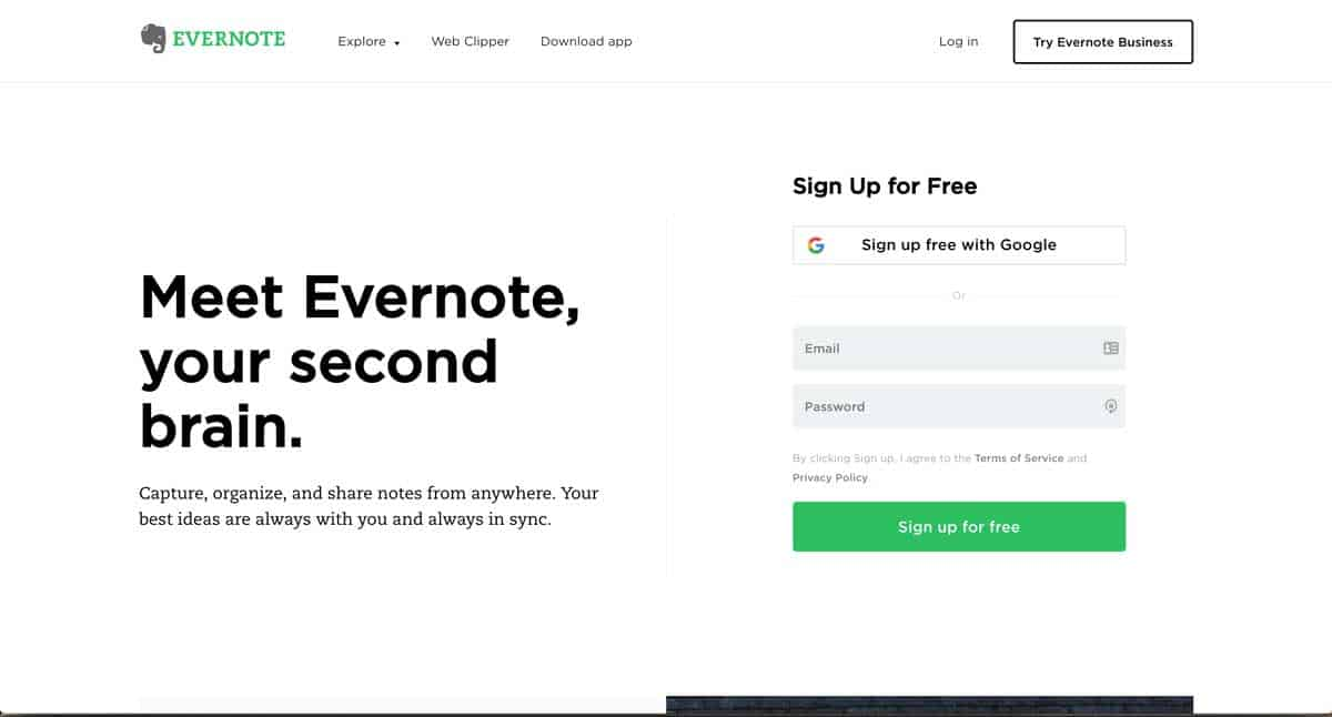 GoWP Productivity Tool 9 Evernote