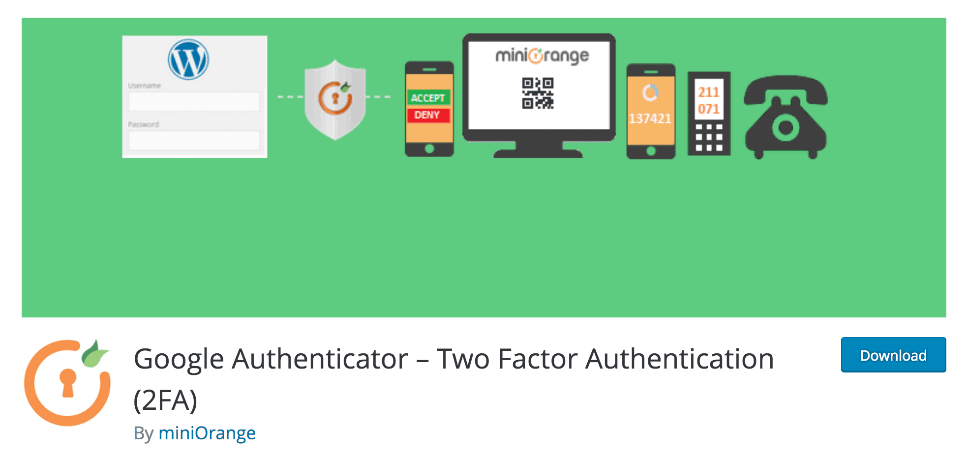 The Google Authenticator plugin in the directory.