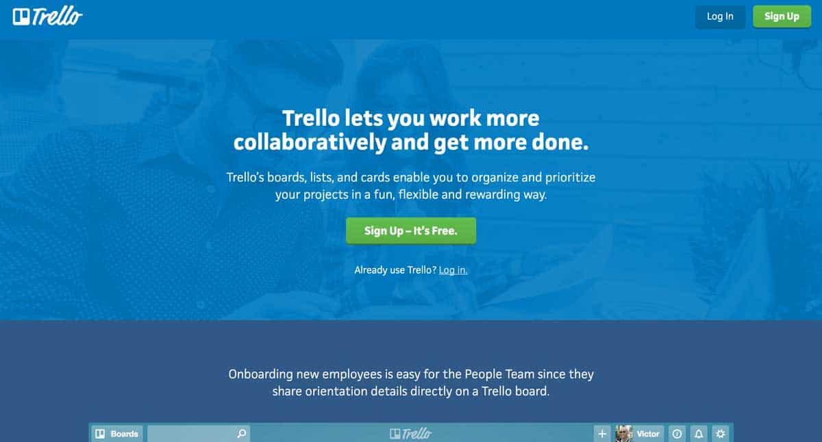 GoWP Productivity Tool 6 Trello