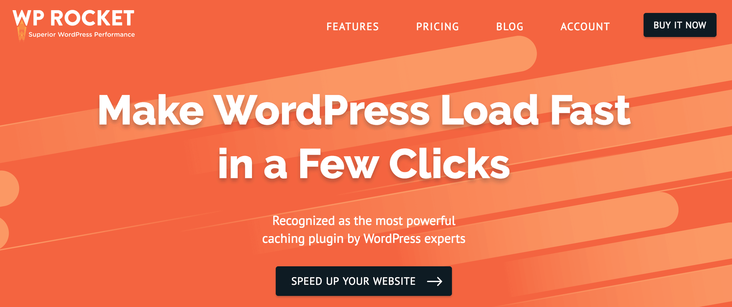 The WP Rocket plugin.