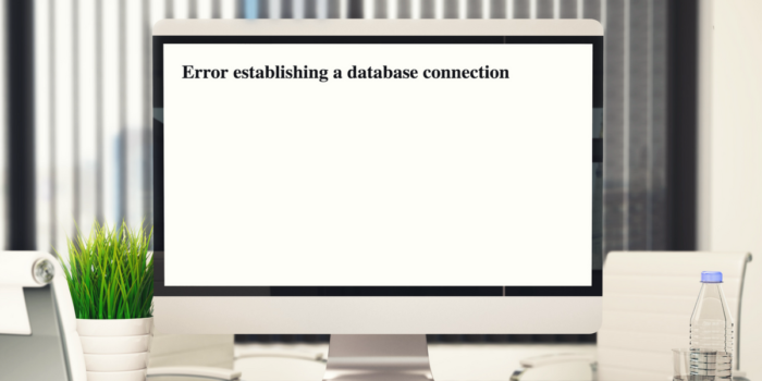 Error Establishing Database Connection V3