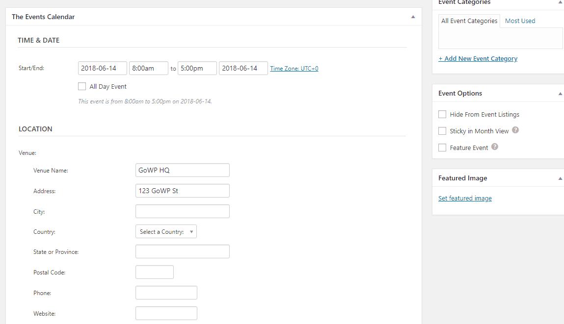 the events calendar is one of the best wordpress calendar plugins