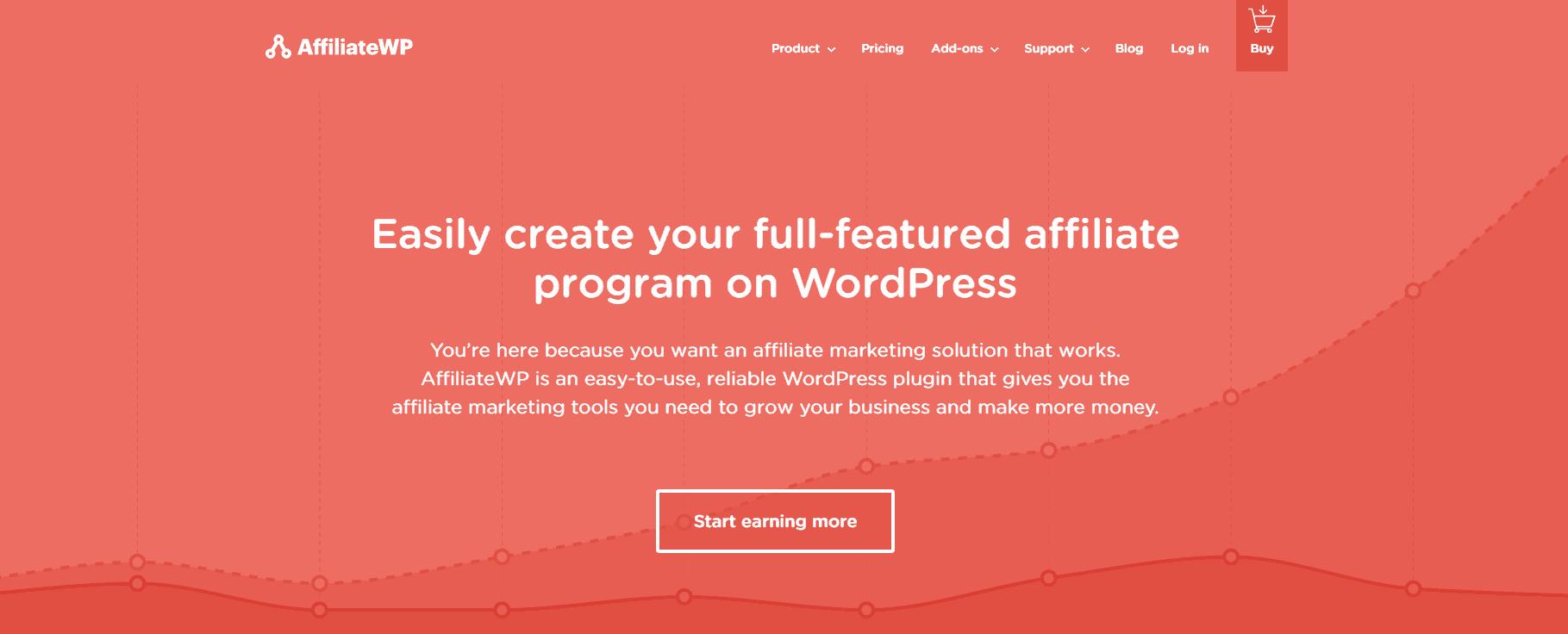 The AffiliateWP WordPress plugin.