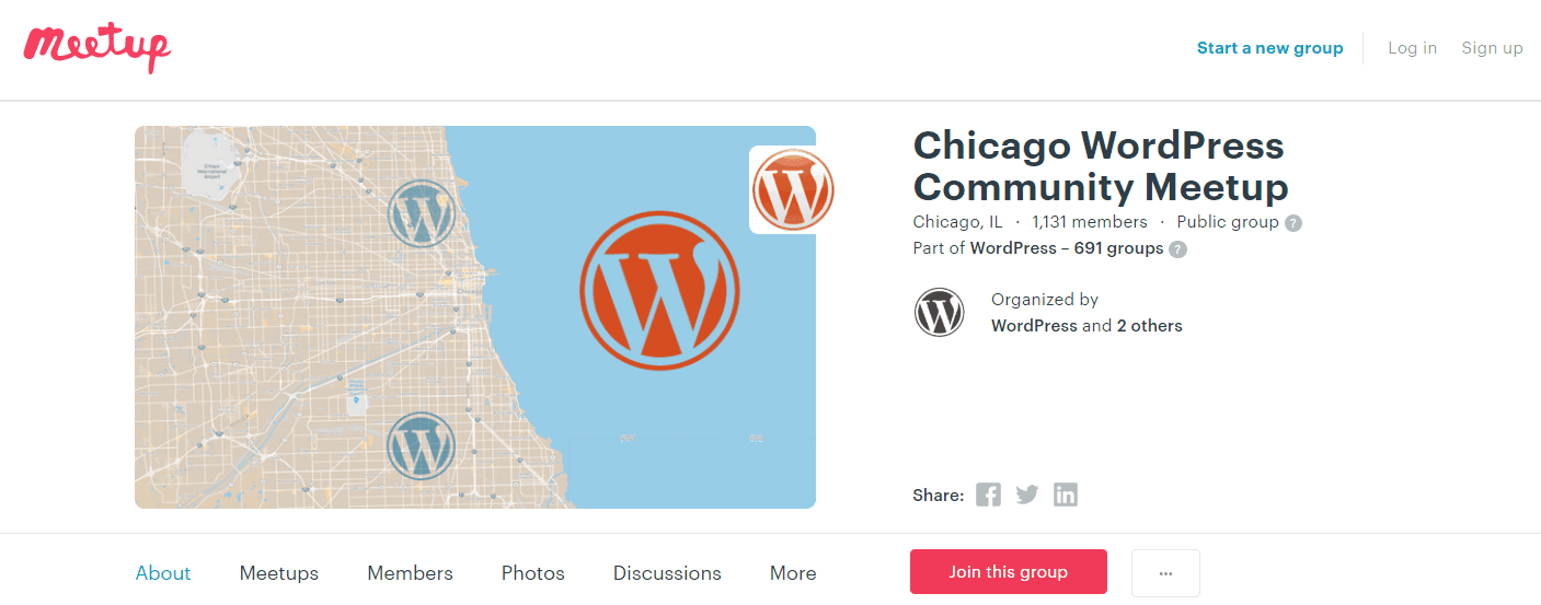 A WordPress community in Chicago.