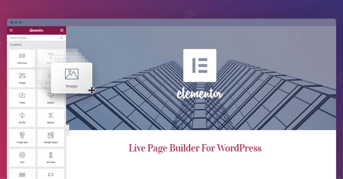 Elementor page builder tutorial