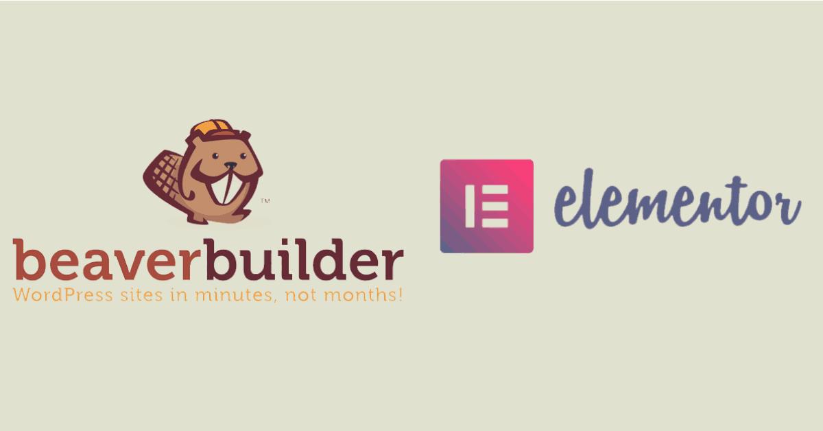 Beaver Builder vs Elementor