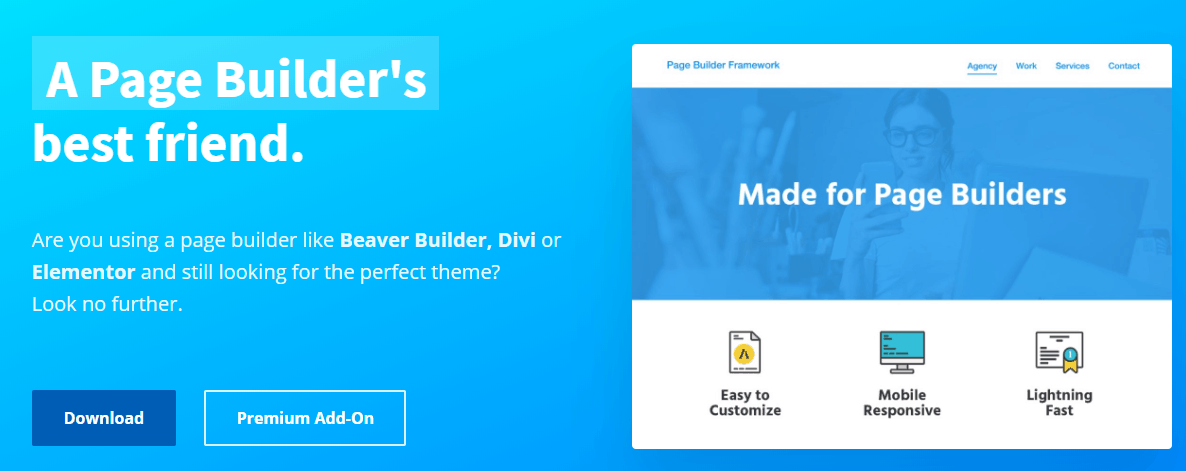The Page Builder Framework plugin.
