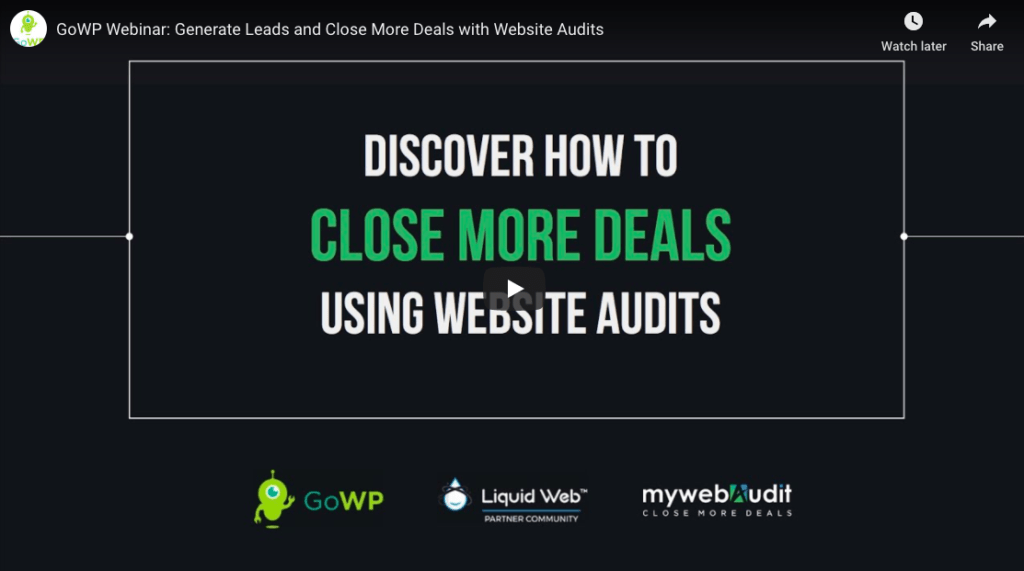 How to use website audits to close deals and grow your agency My Web Audit - Clifford Almeida