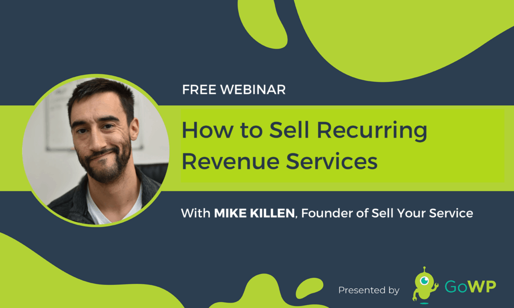 Mike Killen Webinar Sell Your Services