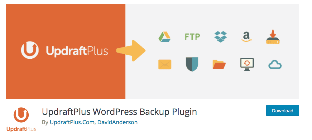 UpdraftPlus Backup plugin