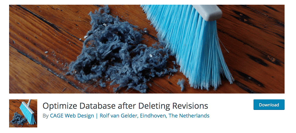 Optimize Database After Deleting Revision