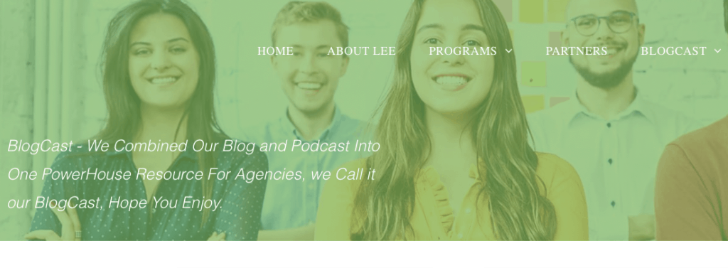 Marketing Agency Coach Blogcast