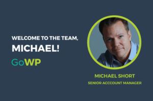 Michael Short Welcome GoWP