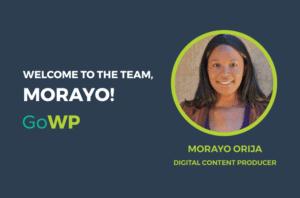 Morayo Orija Welcome