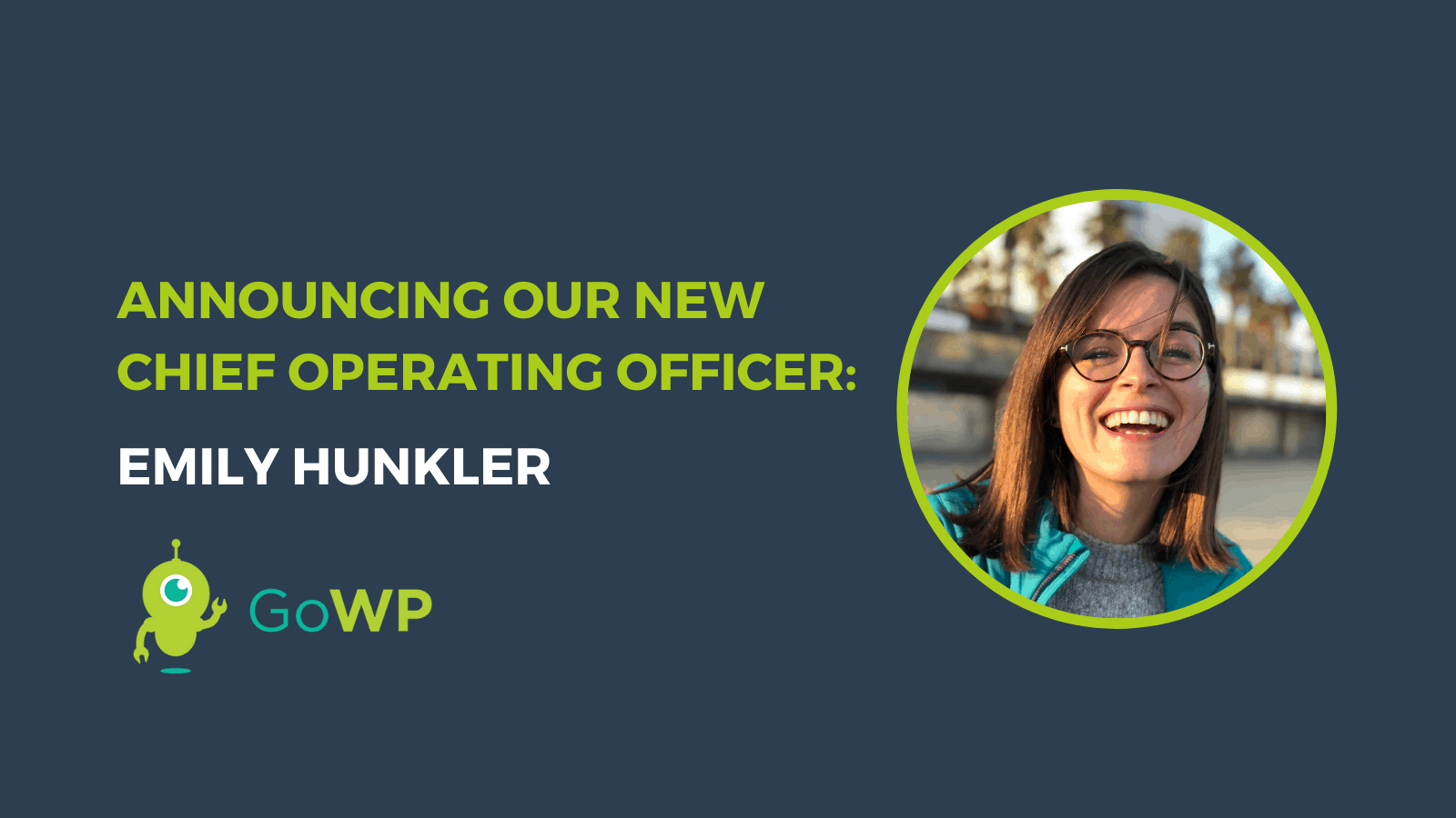 Announcing our new COO: Emily Hunkler