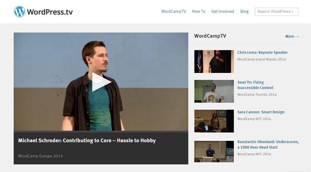 WordPress.tv Overview